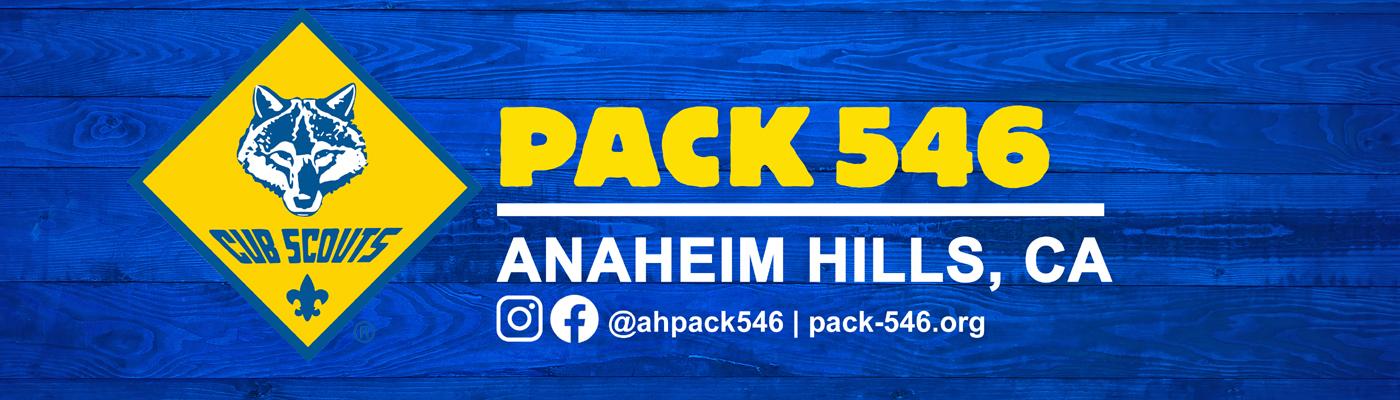 Cub Scout Pack 546 – Anaheim Hills